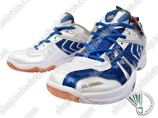 Giày cầu lông Adonex trắng xanh
