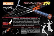 vợt cầu lông Adonex TRANSFORM TEC 200