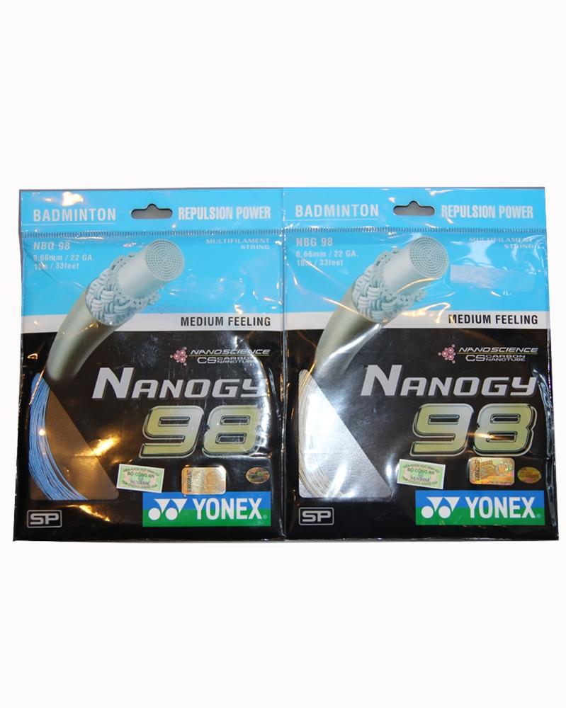 Dây cước căng vợt Yonex Nanogy BG 98
