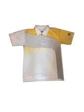 Áo Cầu Lông SFD 001 vai sọc caro vàng