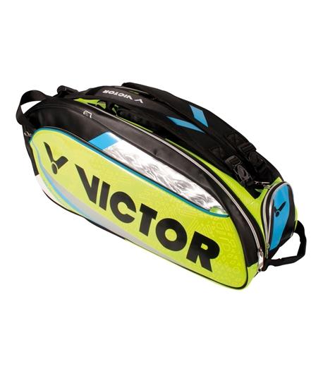 Tui vợt Victor 9307 xanh chuối - Chính hãng Victor 2016