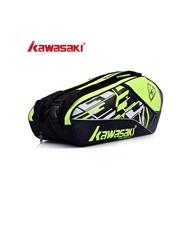 Túi vợt Cầu Lông Kawasaki 8665 xanh chuối