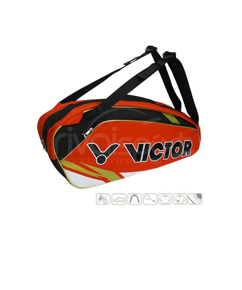 Tui vợt Victor 210 Đỏ - Chính hãng Victor 2016