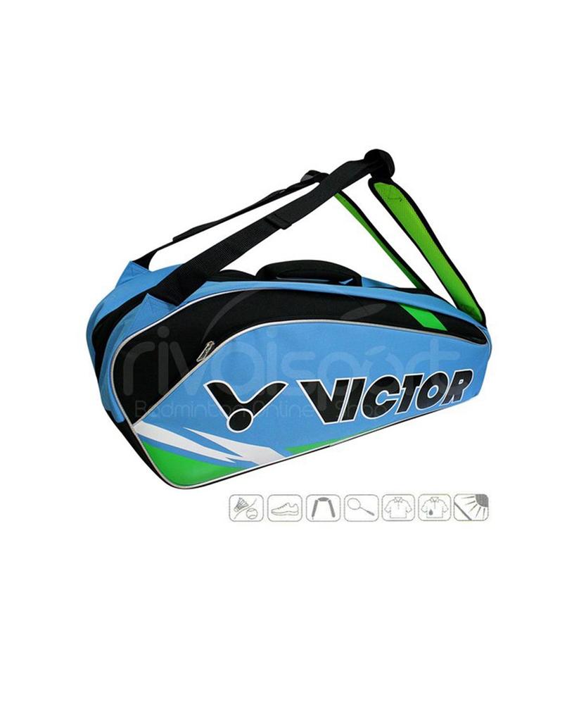 Tui vợt Victor 210 xanh biển - Chính hãng Victor 2016