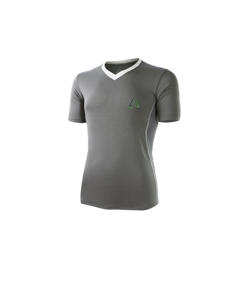 Áo Ailen Irona I V-neck training T-shirt VT01 Grey
