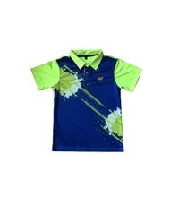 Áo Cầu Lông Yonex Training có cổ xanh chuối 2016