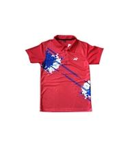 Áo Cầu Lông Yonex Training có cổ đỏ 2016