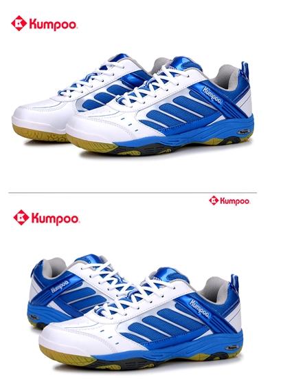 Giày cầu lông KUMPOO KH39 Trắng Xanh