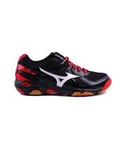 Giày cầu lông Mizuno WAVE TWISTER 4 -091 Đỏ Đen