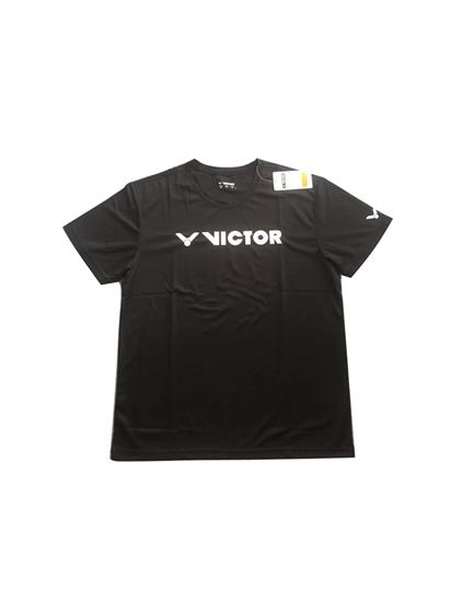 Áo Cầu Lông Victor  Xịn T-C9 đen