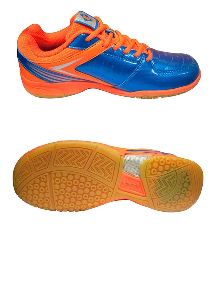 Giày cầu lông KUMPOO KH15 Cam Xanh