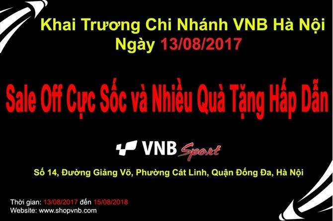 HỆ THỐNG CỬA HÀNG CẦU LÔNG VNB Sports Tưng Bừng Khai Trương Chi Nhánh Thứ 9