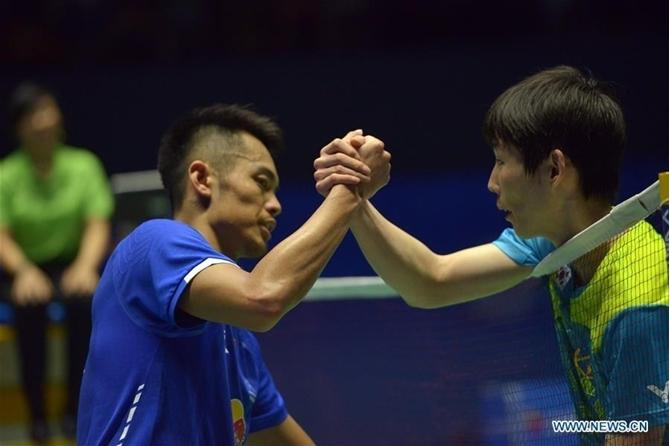 Giải cầu lông DAIHATSU YONEX Japan Open 2017 - Trận đơn nam giữa Lindan vs Son Wan Ho