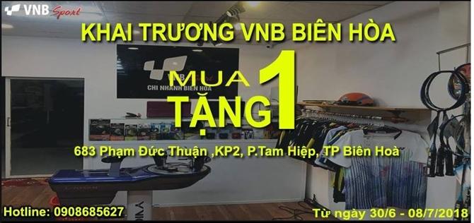 Hệ Thống Cửa Hàng Cầu Lông VNB Khai Trương Chi Nhánh Thứ 12 Tại Biên Hòa - Đồng Nai