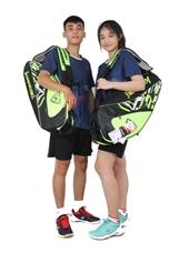 Hình ảnh củaTúi vợt Cầu Lông Kawasaki 8665 xanh chuối