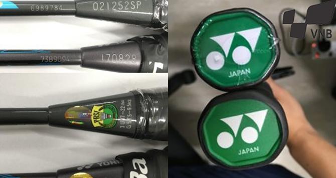 Bạn đã thấy vợt cầu lông Yonex Z-Force II giả chưa? Đây là 3 cách nhận biết