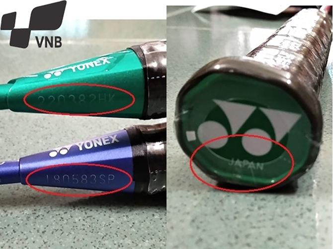 Phân biệt mã code phân phối và mã sản xuất vợt cầu lông, bạn đã từng bị nhầm?