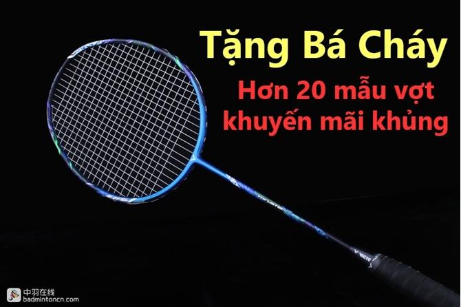Quên Yonex Astrox 99 đi, vợt cầu lông Victor khuyến mãi lớn nhất 2018 tới rồi