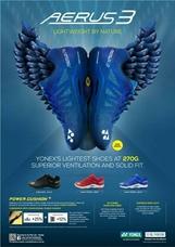 Giày cầu lông Yonex Aerus 3 - Xanh