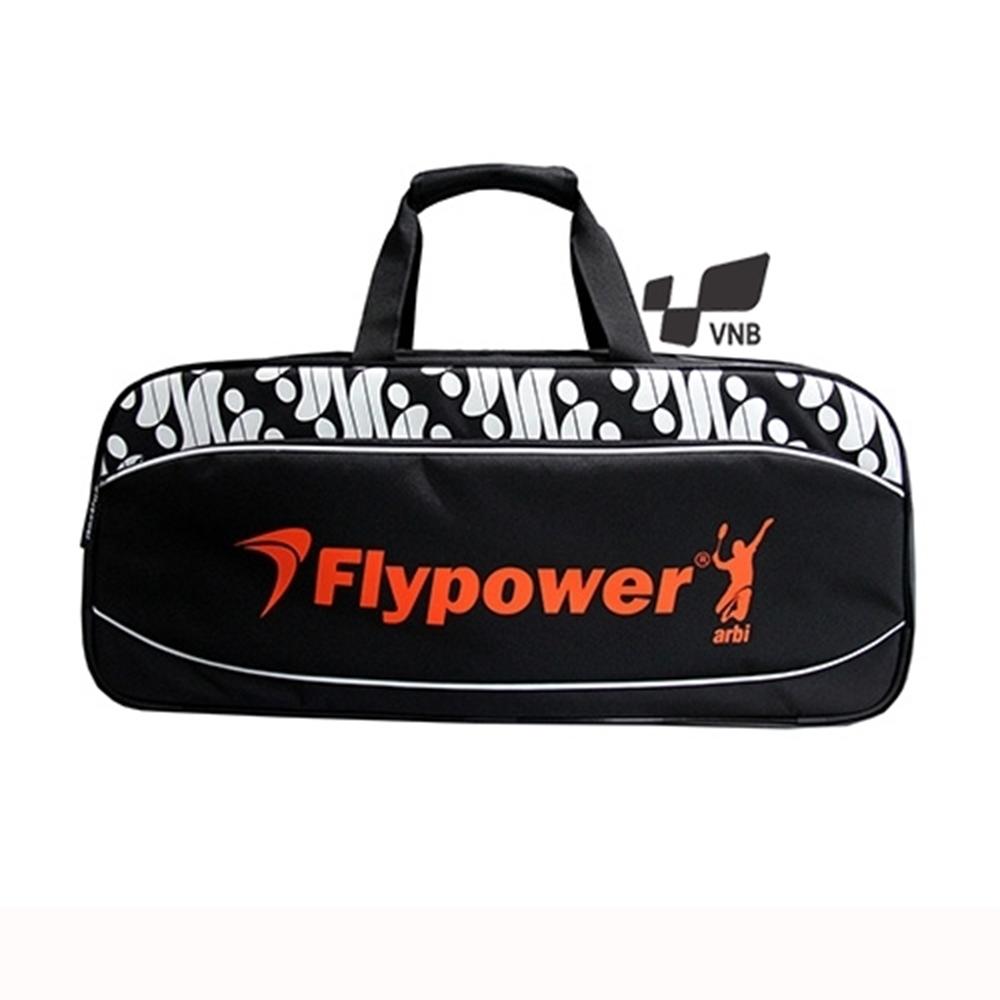 Túi vợt cầu lông Flypower Safir 4 - Đen