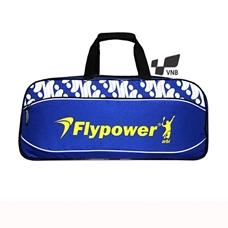Túi vợt cầu lông Flypower Safir 4 - Xanh