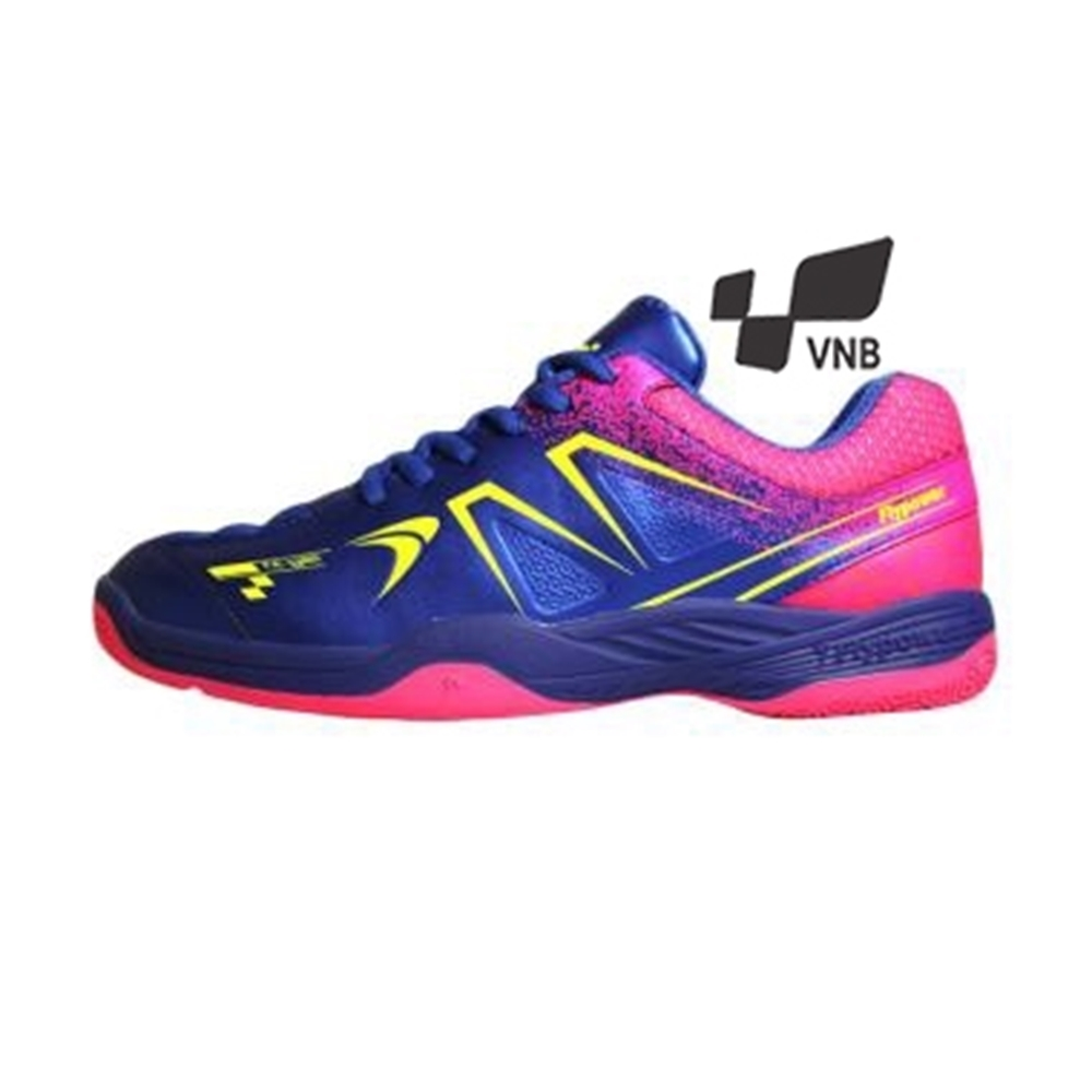 Giày cầu lông Flypower Plosan 5 - Xanh hồng -1