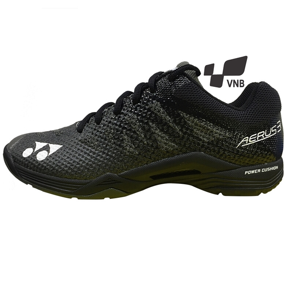Giày cầu lông Yonex Aerus 3 - Đen
