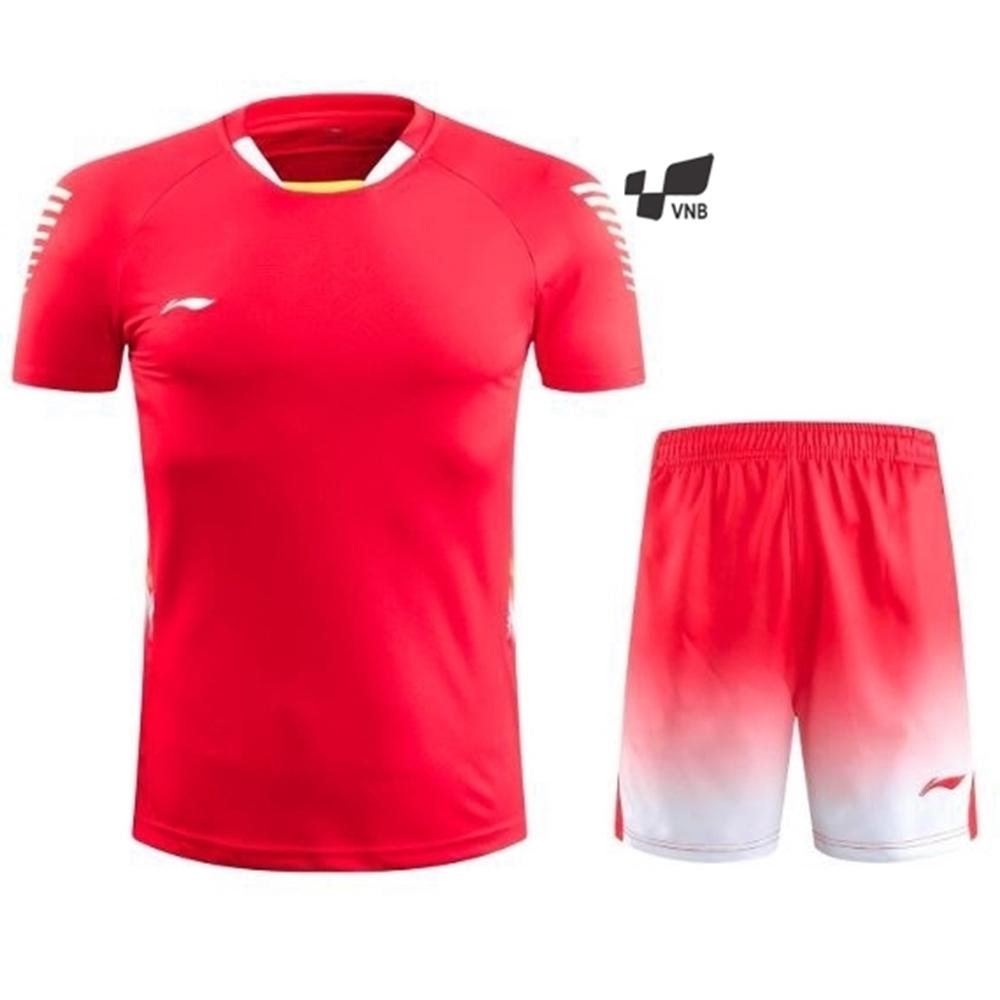 Áo cầu lông Lining 6032 Nữ - Đỏ
