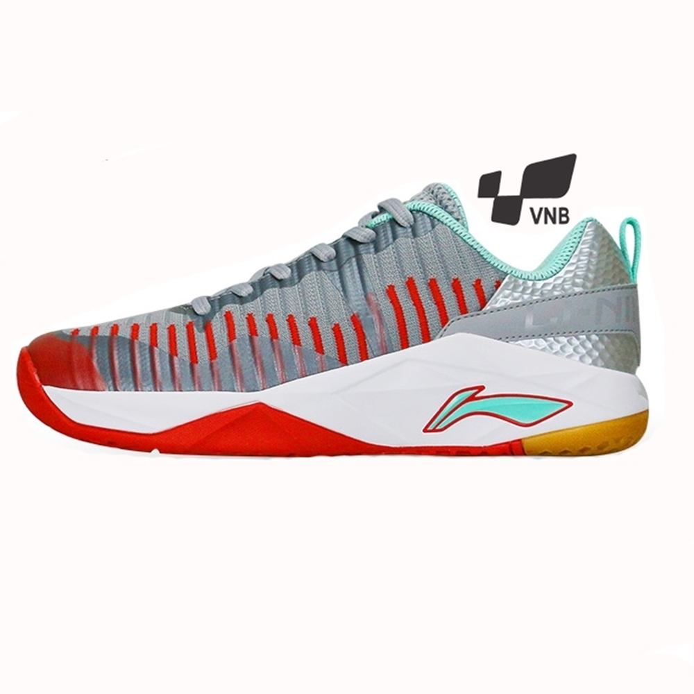 Giày cầu lông Lining AYTM 075-1 - Xám
