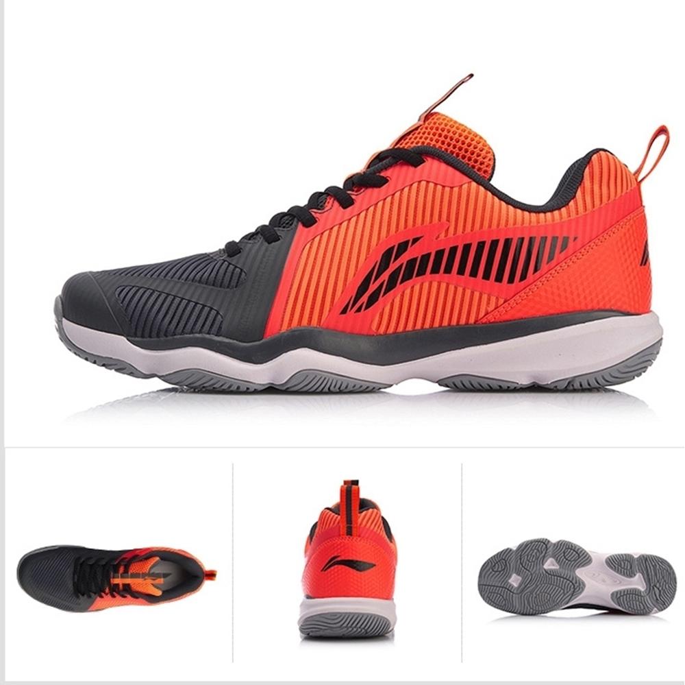 Giày cầu lông Lining AYTN 053-4 - Xanh cam