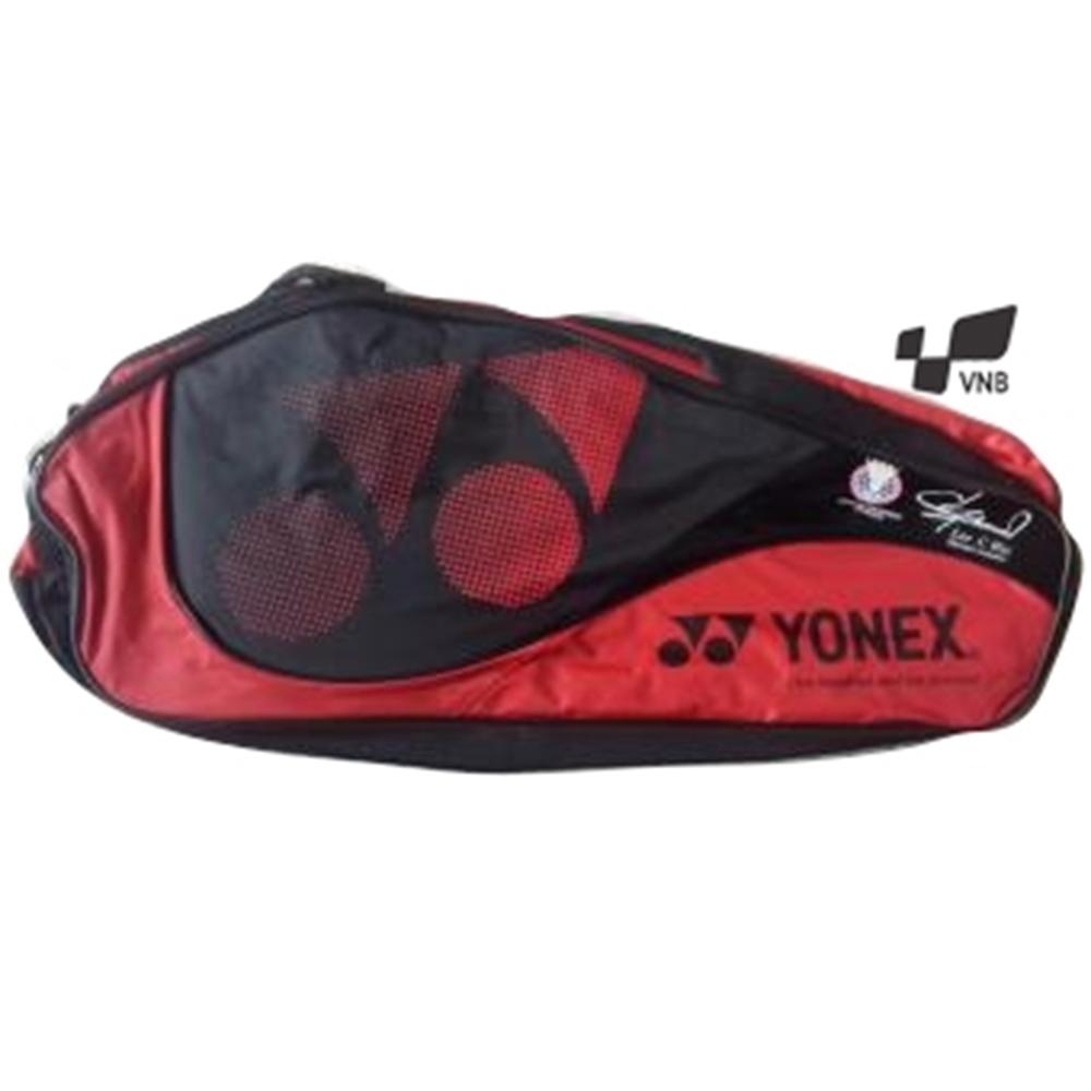 Túi cầu lông Yonex 283Q LCW - Đỏ đen