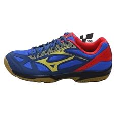 Giày cầu lông Mizuno Cyclone Speed 2 - Xanh vàng đỏ