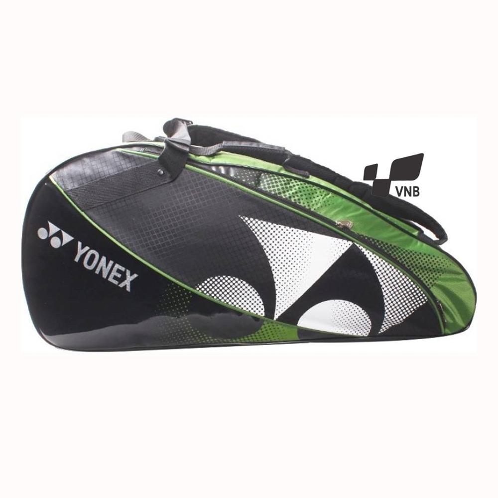 Túi cầu lông Yonex Bag1522 - Đen trắng xanh chuối