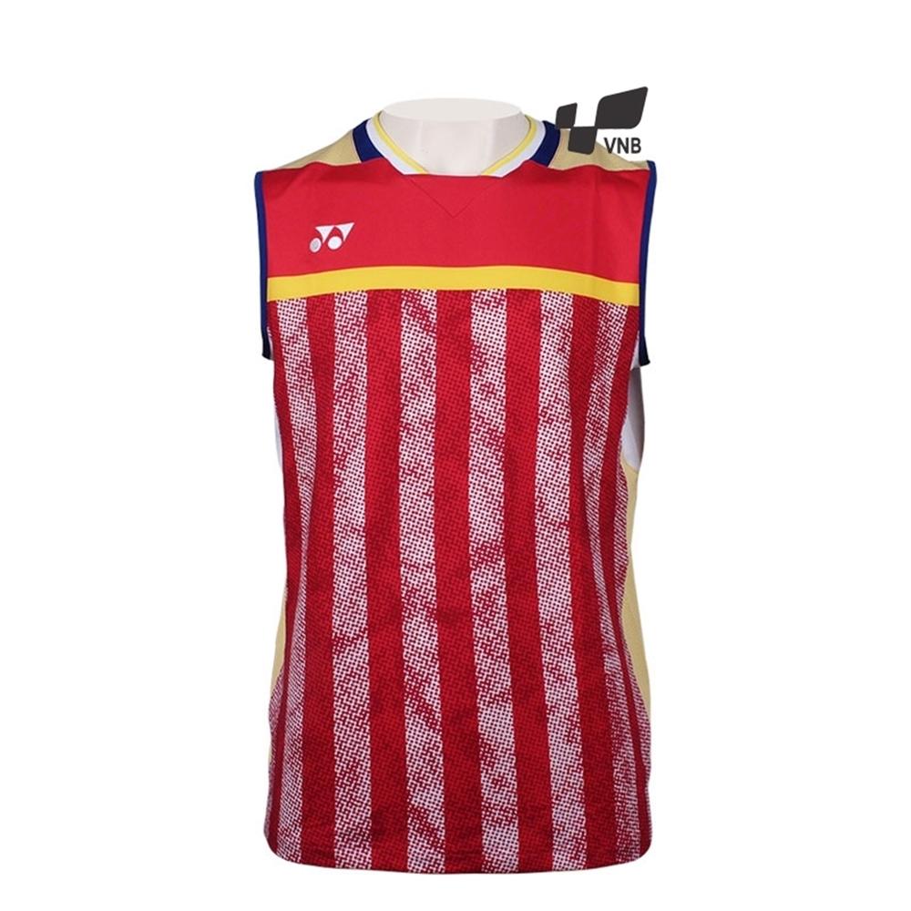 Áo cầu lông Yonex 10248EX - Đỏ vàng - Xách tay