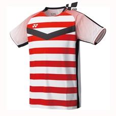 Áo cầu lông Yonex 1072EX - Đỏ trắng - Xách tay