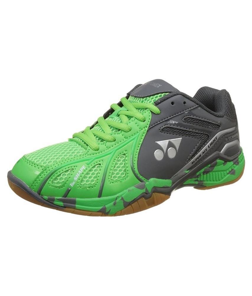 Giày cầu lông Yonex Super ACE Light Xám - Xanh chuối
