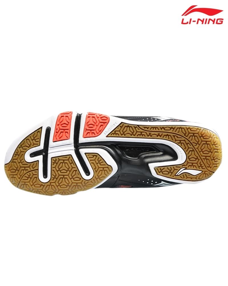 Giày cầu lông Lining AYTM109-1V - Đen đỏ