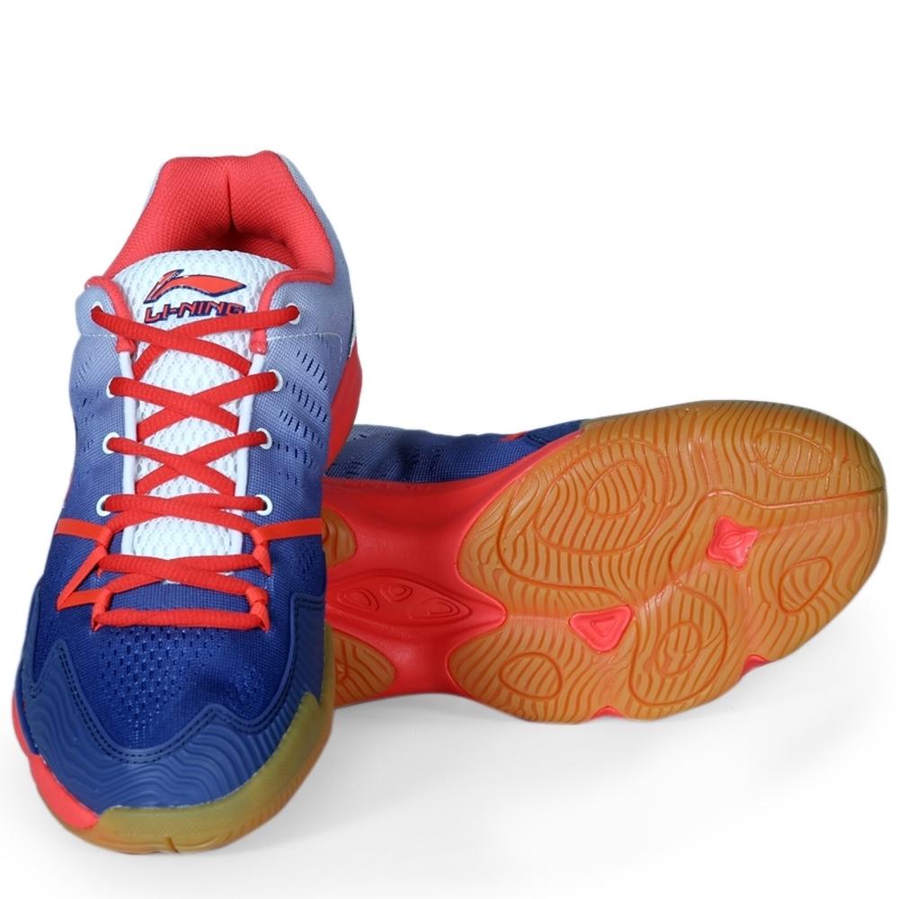 Giày cầu lông Lining AYTM073-3  - Xanh trắng