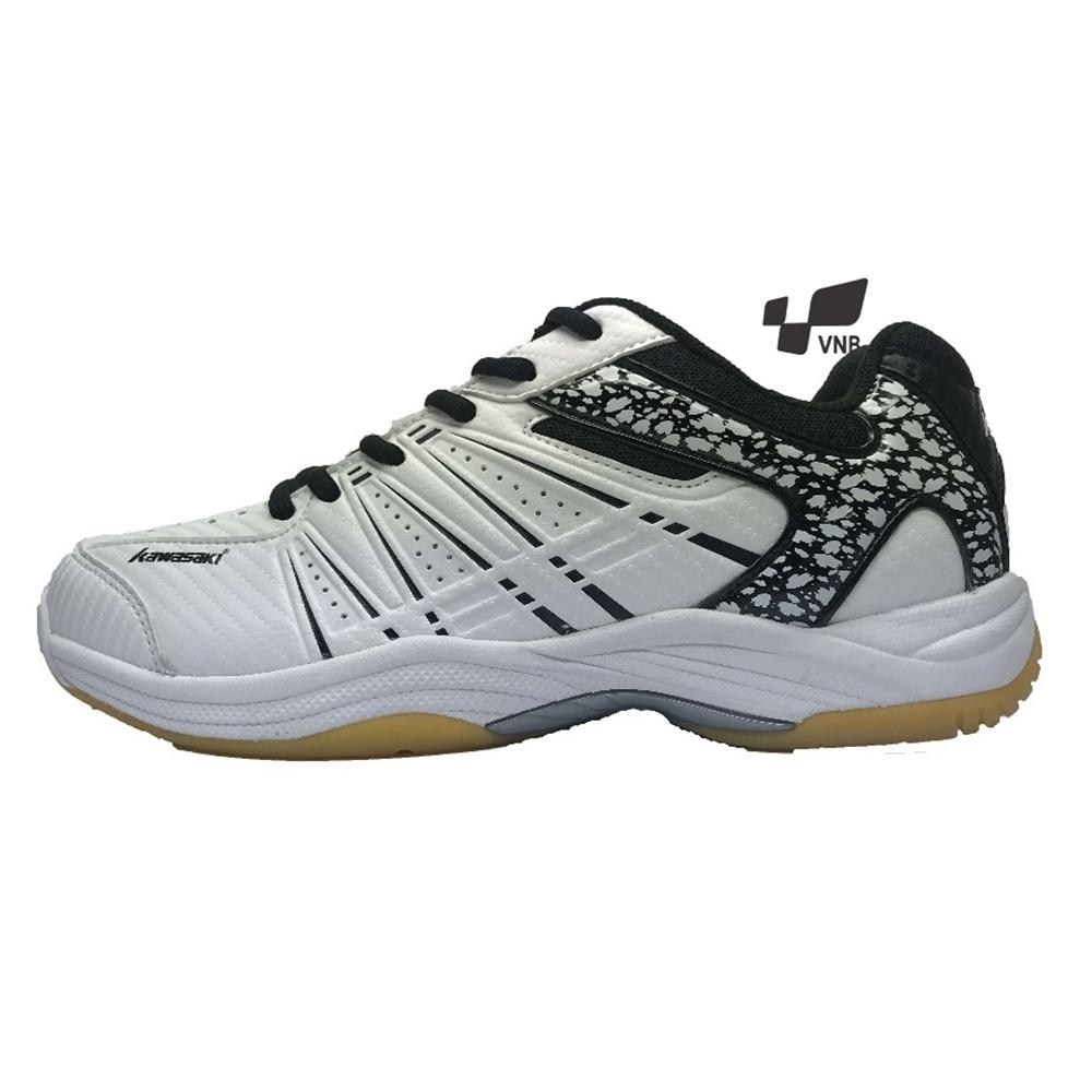 Giày cầu lông Kawasaki 063 - Trắng đen