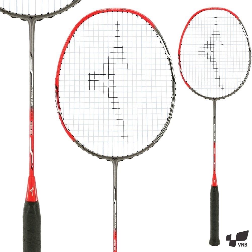 Vợt cầu lông Mizuno Technoblade 633 - Ghi đỏ