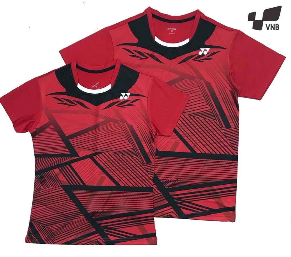 Áo cầu lông Yonex AT04 nam - Đỏ