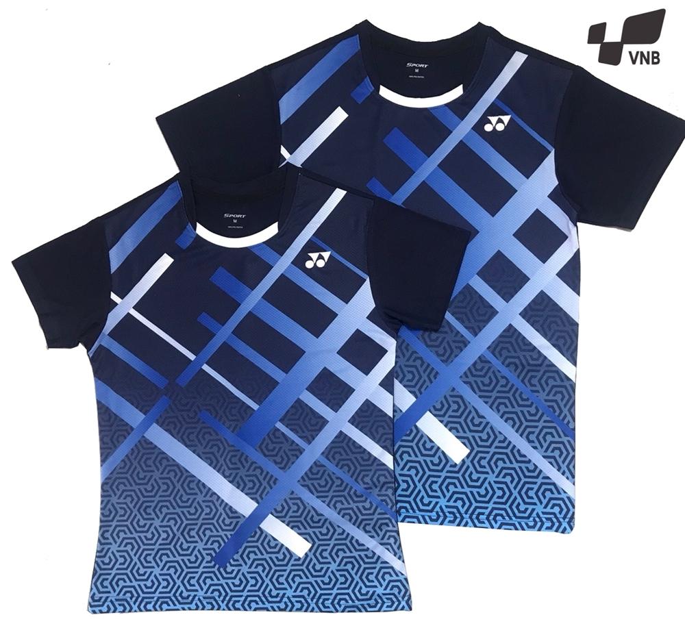Áo cầu lông Yonex AT03 nam - Xanh đen