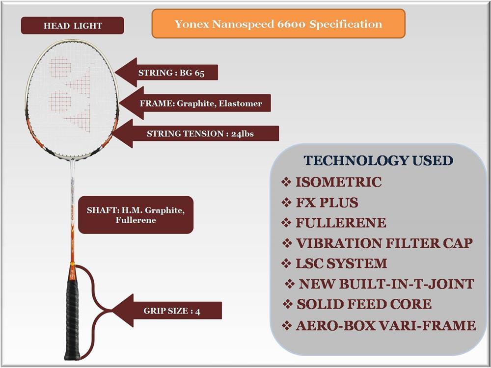 Vợt cầu lông NanoSpeed 6600