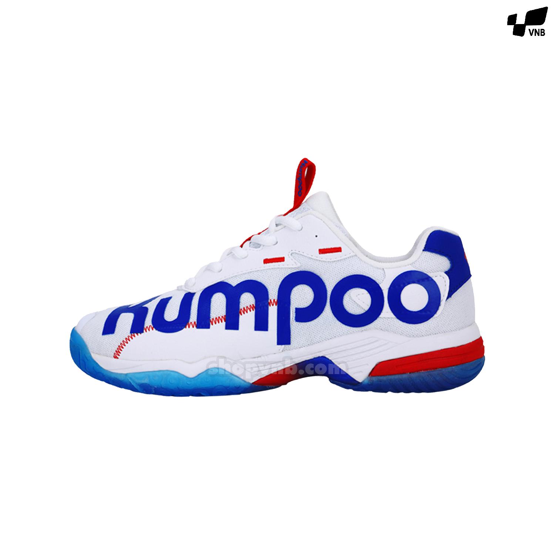 Giày cầu lông Kumpoo KHR - D72 trắng 2020