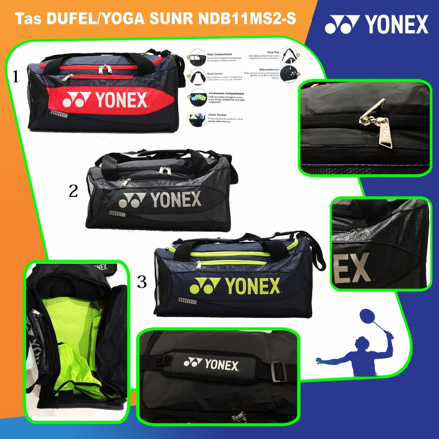 Túi cầu lông Yonex NDB11 MS2-S xanh đỏ chính hãng