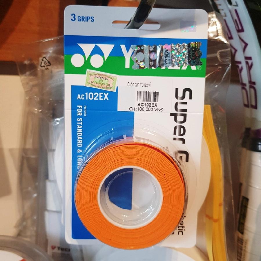 Quấn cán Yonex xịn AC 102 EX (4in1)