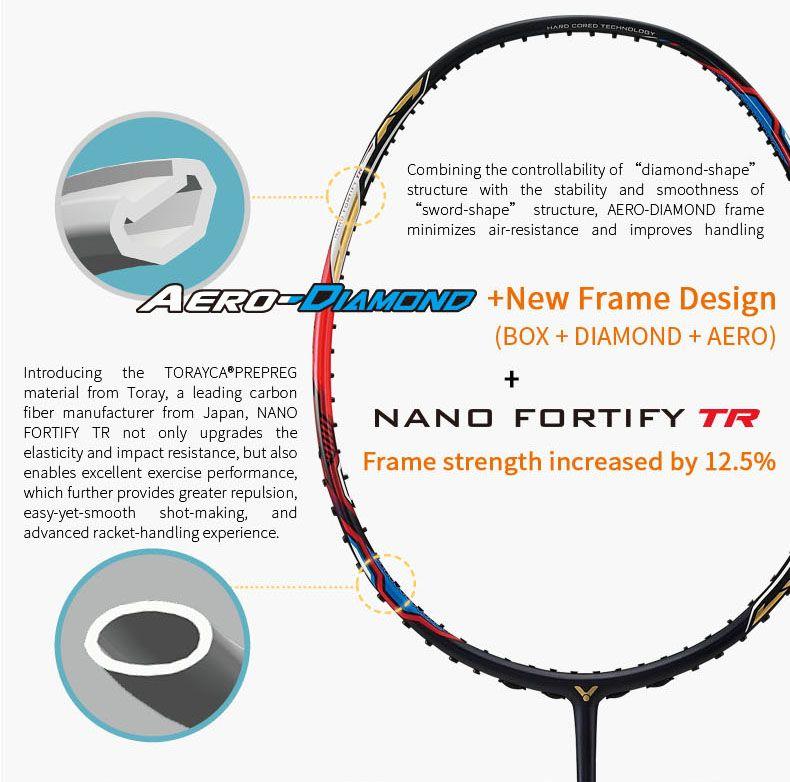 Nano Fortify TR - Vợt cầu lông Victor DX-7K