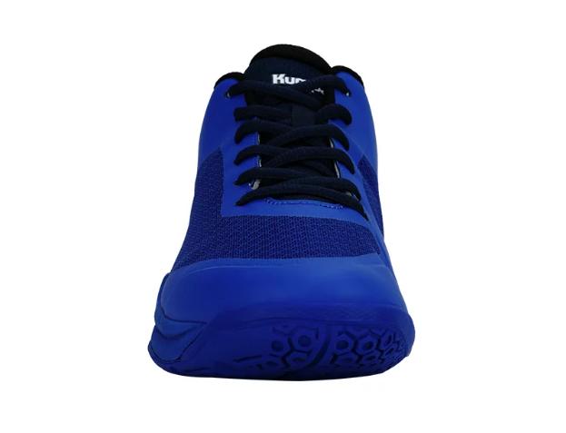 Double Air Mesh - Giày cầu lông Kumpoo KH-E88 trắng vàng chính hãng