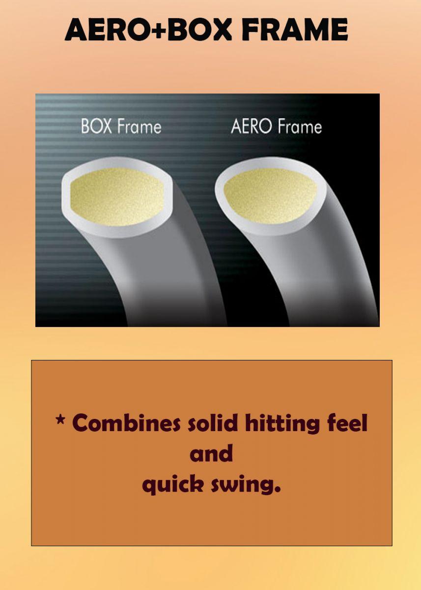 AERO-BOX FRAME - Vợt cầu lông Yonex Astrox 100ZZ Kurenai - Đỏ New 2021