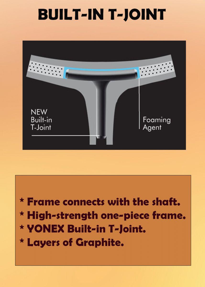 NEW BIULT-IN T-JOINT - Vợt cầu lông Yonex Nanoflare 380 (MATBK) chính hãng